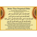 Better than Perpetual Dhikr
